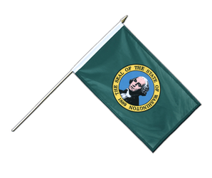 Washington - Stockflagge PRO 30 x 45 cm