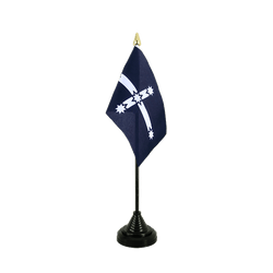 Eureka 1854 Table Flag 4x6""