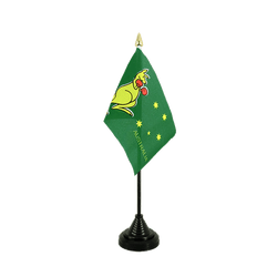 Australia kangaroo Table Flag 4x6""