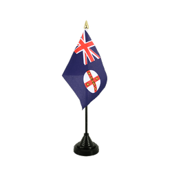 New South Wales Tischflagge 10 x 15 cm