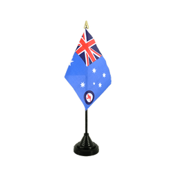 Australien Royal Australian Air Force RAAF Tischflagge 10 x 15 cm