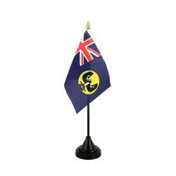 Mini drapeau de table Australie South 10 x 15 cm