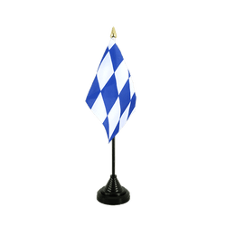 Bavaria without crest - Table Flag 4x6""