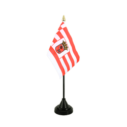 Bremen Table Flag 4x6""