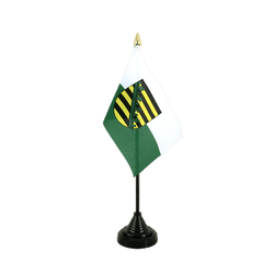 Saxony Table Flag 4x6""