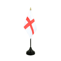 England St. George Table Flag 4x6""