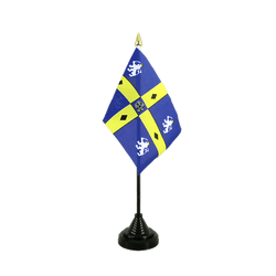 Durham County Mini drapeau de table 10 x 15 cm