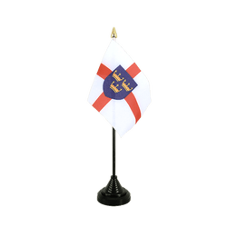 Mini drapeau de table East Anglia - 10 x 15 cm