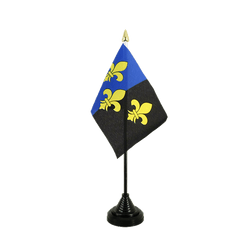 Mini drapeau de table Monmouthshire - 10 x 15 cm