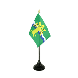 Nottinghamshire Table Flag 4x6""