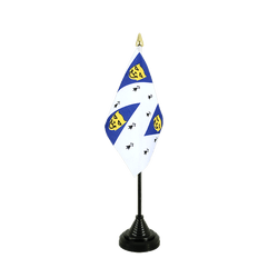 Mini drapeau de table Shropshire 10 x 15 cm