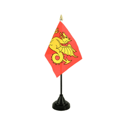 Wessex 519-927 Table Flag 4x6""