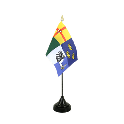 Mini drapeau de table Irlande 4 provinces - 10 x 15 cm