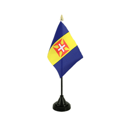 Madeira Table Flag 4x6""
