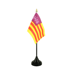 Majorca Table Flag 4x6""