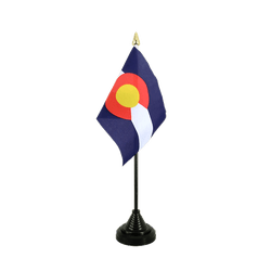 Colorado - Table Flag 4x6""