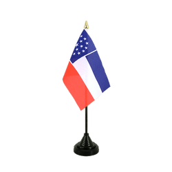 Mini drapeau de table Mississippi inofficiel 10 x 15 cm