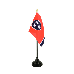 Tennessee Table Flag 4x6""