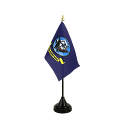 US Navy Table Flag 4x6""