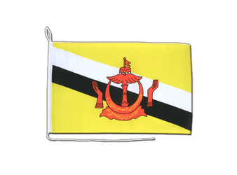 Brunei Boat Flag 12x18""