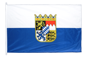 Bavaria with crest Flag PRO 100 x 150 cm