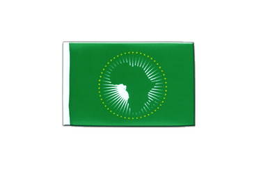 Fanion rectangulaire de l'Union Africaine UA 10 x 15 cm