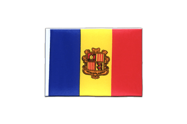 Andorra Mini Flag 4x6""