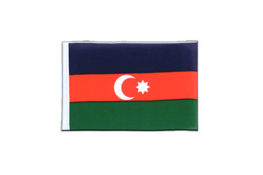 Azerbaijan - Mini Flag 4x6""