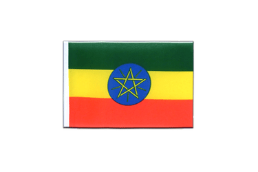 Ethiopia with star Mini Flag 4x6""