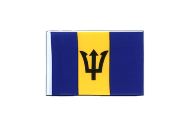 Barbados - Mini Flag 4x6""