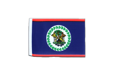 Belize - Mini Flag 4x6""