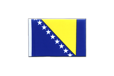 Bosnia-Herzegovina - Mini Flag 4x6""