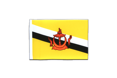 Brunei - Mini Flag 4x6""