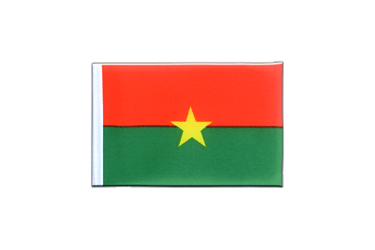 Burkina Faso Mini Flag 4x6""