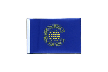 Fanion rectangulaire du Commonwealth 10 x 15 cm