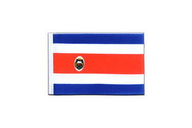Costa Rica - Mini Flag 4x6""