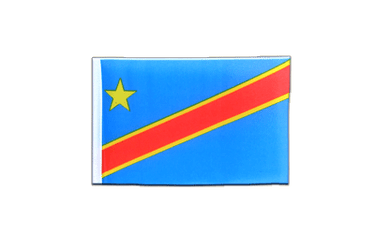 Democratic Republic of the Congo Mini Flag 4x6""