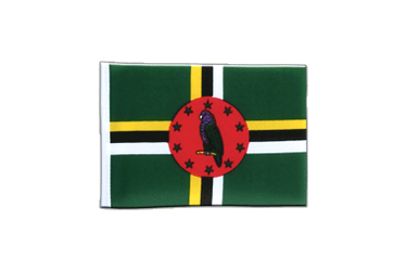 Dominica Mini Flag 4x6""
