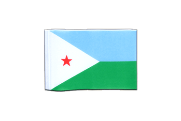 Djibouti - Mini Flag 4x6""