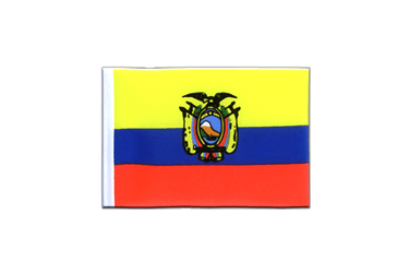 Ecuador Mini Flag 4x6""