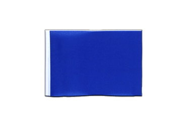 Fanion rectangulaire Bleu 10 x 15 cm
