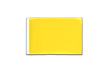 Fanion rectangulaire Jaune 10 x 15 cm