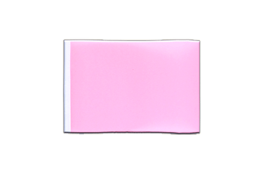 Fanion rectangulaire Rose 10 x 15 cm