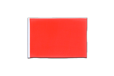 Fanion rectangulaire Rouge 10 x 15 cm
