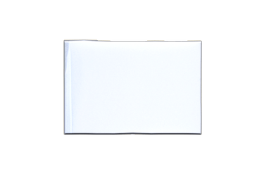Fanion rectangulaire Blanc 10 x 15 cm