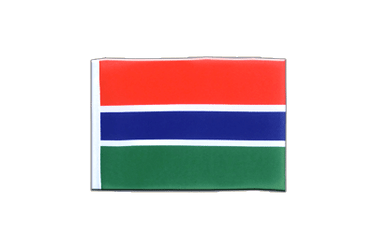 Gambia Mini Flag 4x6""