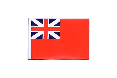 Fanion rectangulaire du Red Ensign 1707-1801 10 x 15 cm