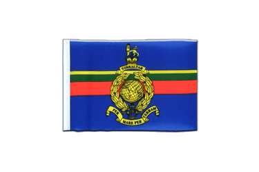 Royal Marines Mini Flag 4x6""