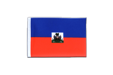 Haiti - Mini Flag 4x6""