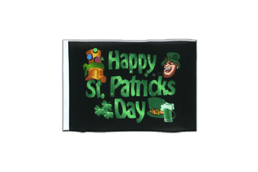 Happy St. Patrick's Day Schwarz